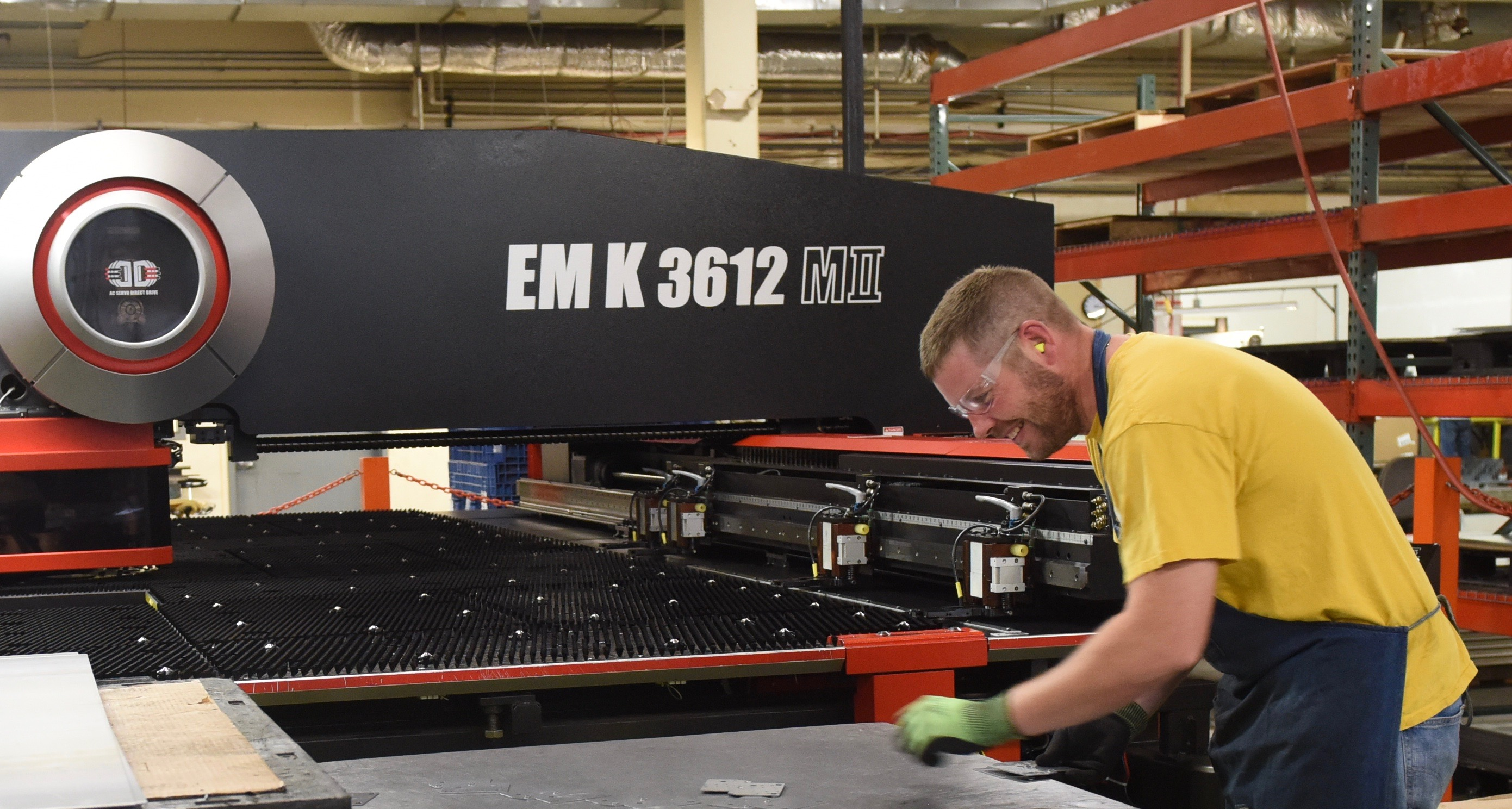 R&M Manufacturing Amada EMK Turret wiht In-Die Tapping Capability