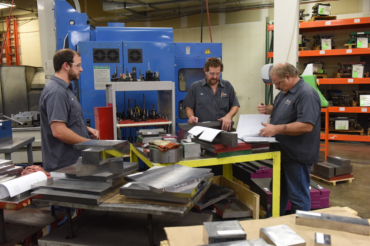 Problem solving metal manufacturing